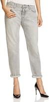 Levi's 501 Boyfriend Jeans in Fog Line