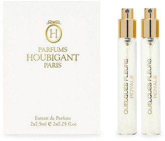 Houbigant Paris Quelques Fleurs Royale Extrait 2-Piece Travel Spray Refill Set