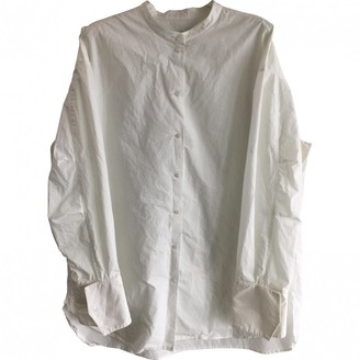 Bassike White Cotton Top for Women