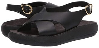 Ancient Greek Sandals Maria Comfort (Black) Women's Shoes