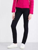 Armani Jeans Ladies Blu Denim Classic Slim-Fit High-Rise