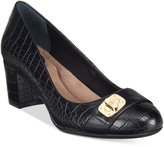 Giani Bernini Lorenn Block-Heel Pumps, Only at Macy's