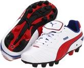 Puma Kids - Esito Finale R HG Jr (Little Kid/Big Kid) (White/Ribbon Red/Limoges) - Footwear