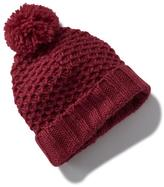 Old Navy Honeycomb-Knit Pom-Pom Hat For Toddler