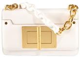 Tom Ford Maxi Chain Ivory Calfskin Shoulder Bag