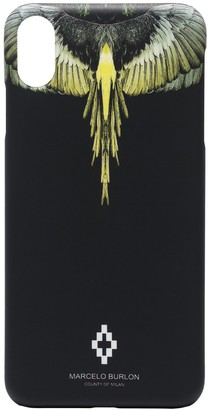Marcelo Burlon County of Milan Wings iPhone XS Max case