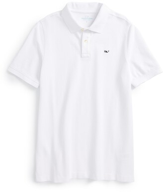 Vineyard Vines Classic Pique Cotton Polo