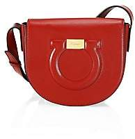 Salvatore Ferragamo Women's Gancini Leather Saddle Bag