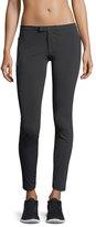 Blanc Noir Triumph Low-Rise Skinny-Leg Pants
