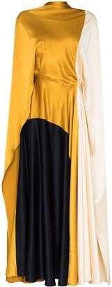 Roksanda Andromeda colour-block silk dress