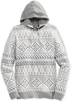 American Rag Men's Fair Isle Hooded Sweater, Only at Macy's