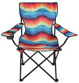 POPTIMISM! POPTIMISM! Basic Chair Rainbow Stripe