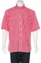 Paul & Shark Gingham Woven Shirt w/ Tags