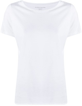 Majestic Filatures scoop neck T-shirt