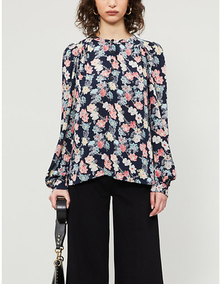 Zadig & Voltaire Tifany floral print crepe tunic
