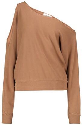 Lanston Porter one-shoulder sweatshirt