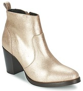 Gold Ankle Boots - ShopStyle UK