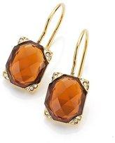 Gerry Weber 138991316 Ladies'Earrings Stainless Steel Crystal Brown