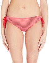 Juicy Couture Women's Riviera Tunnel Side Bikini Bottom