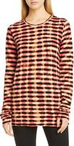 Proenza Schouler Tie Dye Stripe T-Shirt