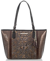 Brahmin Cosimo Collection Medium Asher Tasseled Tote