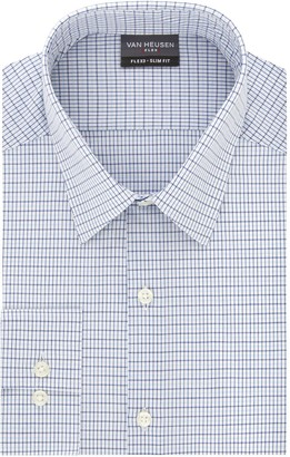 Van Heusen Mens Flex 3 Slim-Fit 4-Way Stretch Dress Shirt