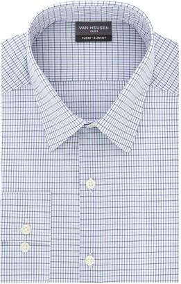 Van Heusen Mens Flex 3 Slim-Fit 4-Way Stretch Dress Shirt