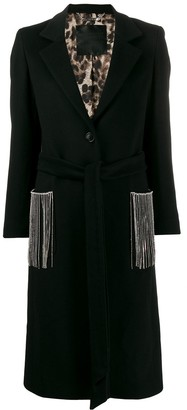 Philipp Plein fringed Cowboy coat