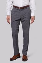 Savoy Taylors Guild Regular Fit Grey Windowpane Pants