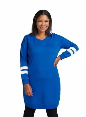 Zizzi Women's Sportlich Kleid Dress