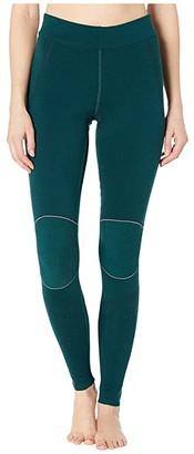 Smartwool Intraknit Merino 250 Thermal Bottoms (Peacock) Women's Casual Pants