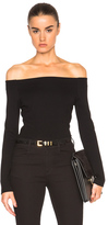 L'Agence Cynthia Top in Black.