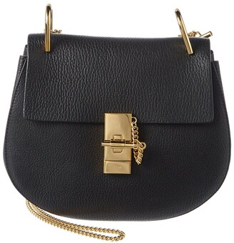 Chloé Drew Leather Shoulder Bag