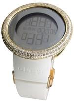 Gucci Digital YA114216 Gold Clear 13 Ct Diamond Mens Watch