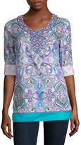 Robert Graham Women's Sirene Cotton Tunic
