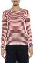 Forte Forte Forte_forte Striped Cashmere Long Sleeves T-shirt
