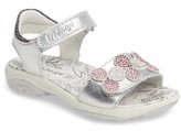 Primigi Toddler Girl's Embellished Flower Sandal