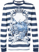 Dolce & Gabbana marina print long sleeve top - men - Cotton - 48