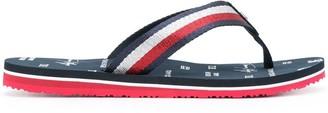 Tommy Hilfiger Logo Flip-Flops