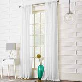 JCPenney Lichtenberg Lola Solid Rod-Pocket Sheer Curtain Panel