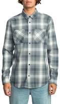 RVCA Men's Plaid Woven Shirt
