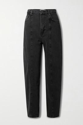 Reformation + Net Sustain Kris High-rise Slim-leg Jeans - Black