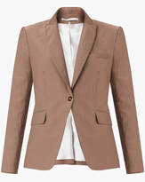 Veronica Beard Kennedy Cutaway Dickey Jacket