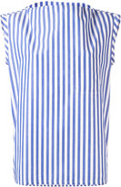 Barena striped sleeveless blouse