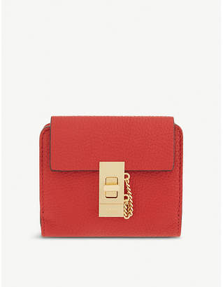 Chloé Drew square leather purse