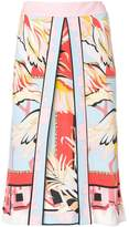 Emilio Pucci printed fitted skirt