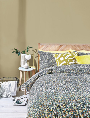 Marks and Spencer Cotton Rich Camouflage Bedding Set