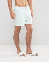 Abercrombie & Fitch Swim Shorts Solid In Blue
