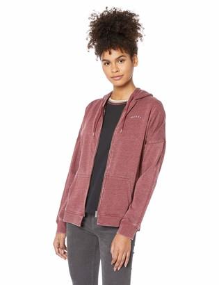 Roxy Junior's Rustling Leaves Zip-Up Hooded Sweatshirt