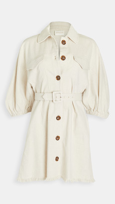 Divine Heritage Raglan Sleeve Princess Seam Mini Dress